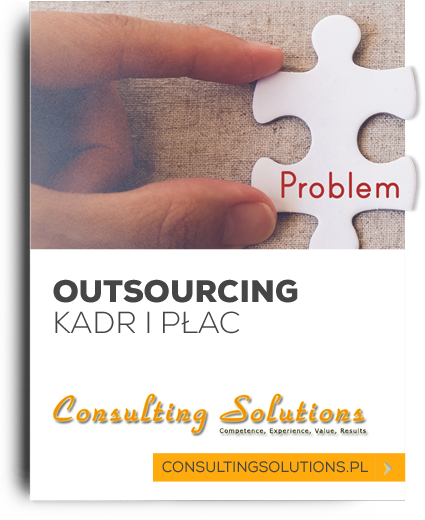 Consulting Solutions - Outsourcing kard i płac